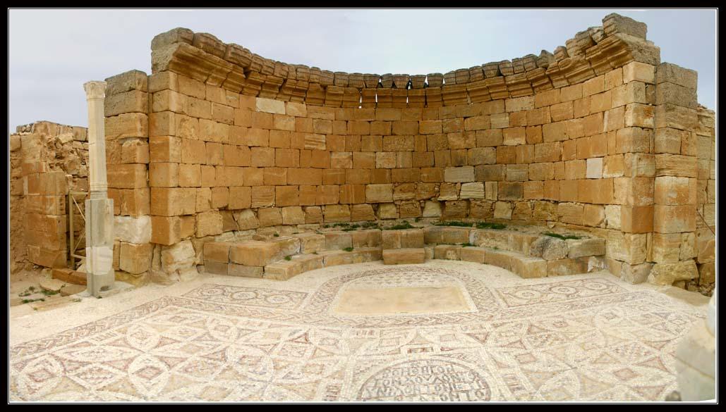 византийская церковь в Мамшит - набатейский город