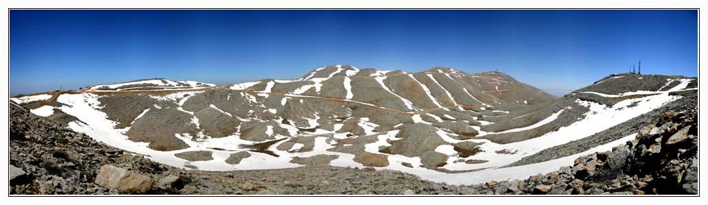 Гора Хермон - Израиль - снег лыжи