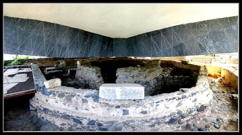 Дом Петра в котором жил Иисус в Капернауме