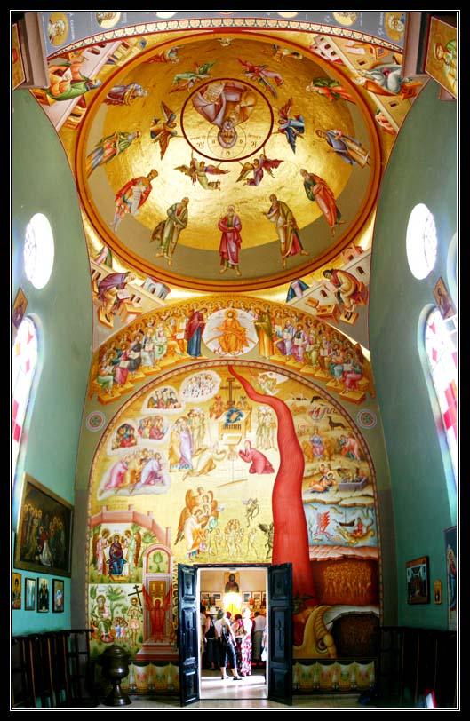 греко православный храм 12 апостолов на галилейском море