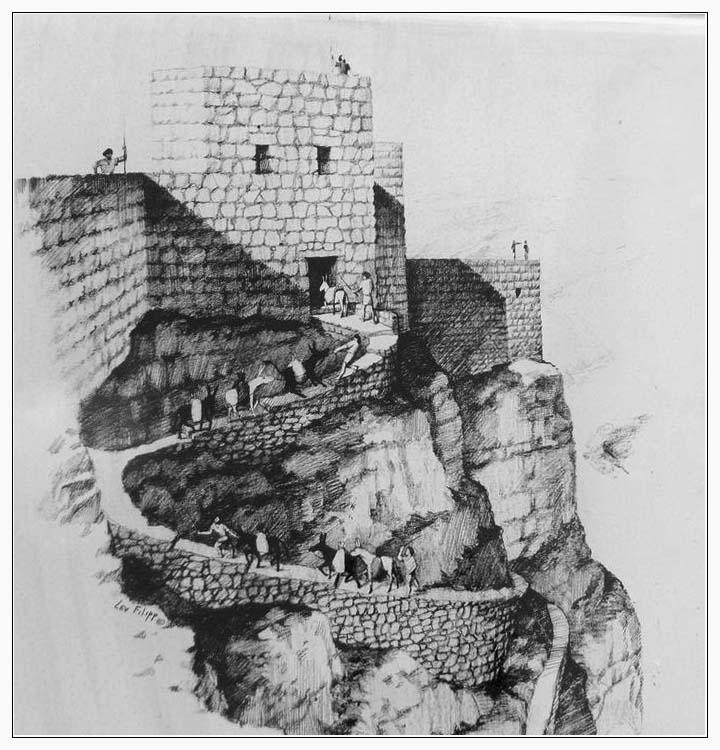 Змеиная тропа - подъем на Масаду