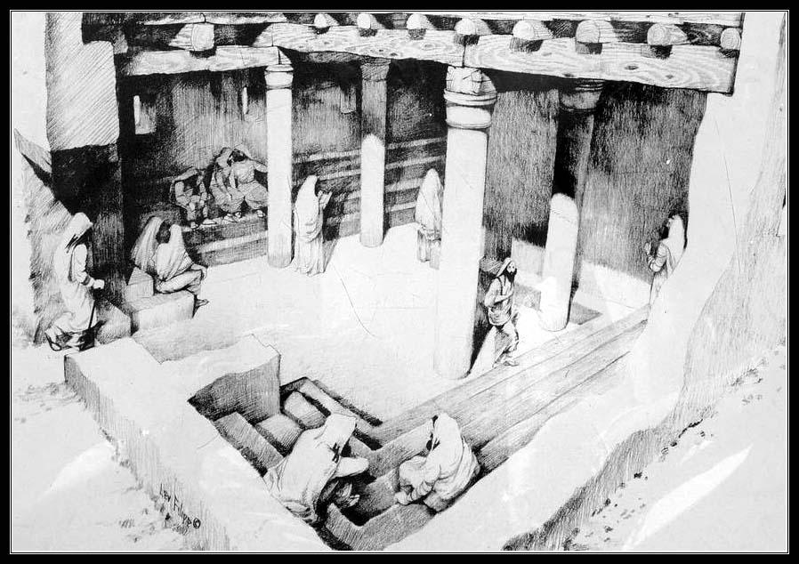 Синагога в крепости Масада