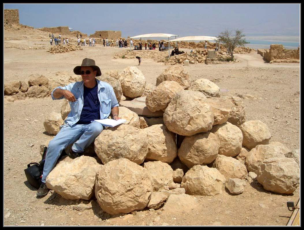 Ядра баллисты - крепость Масада