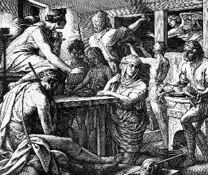 Смерть первенцев - иудейская пасха - песах