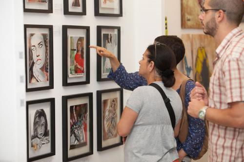 Свежая краска - выставка в Тель Авиве