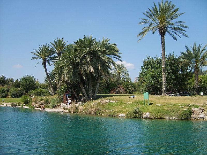 Сахне - Ган ха Шлоша - ручей, озера отдых с детьми
