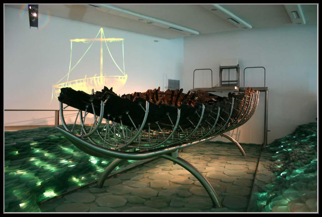 Лодка времен Иисуса – Музей Бейт Игаль Алон - Кибуц Гиносар