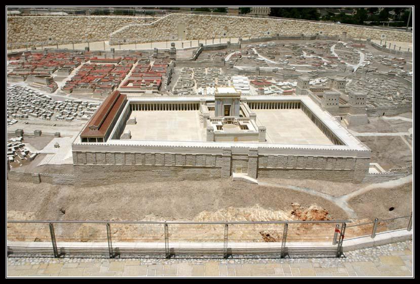 модель храмовой горы - Иерусалим