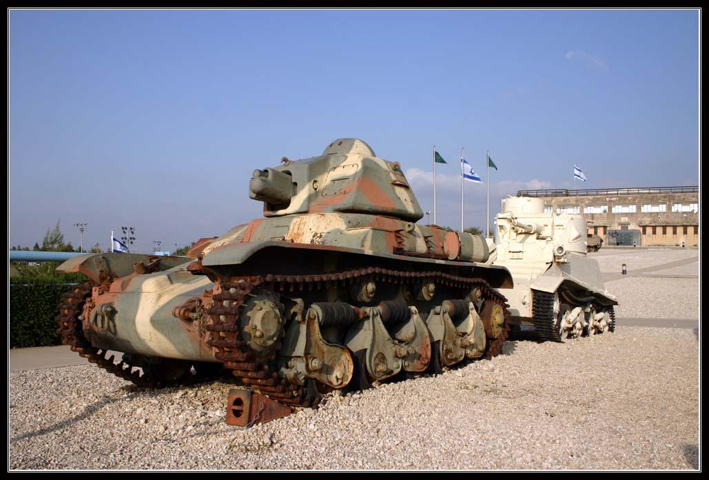 Музей бронетанковых войск в Латруне