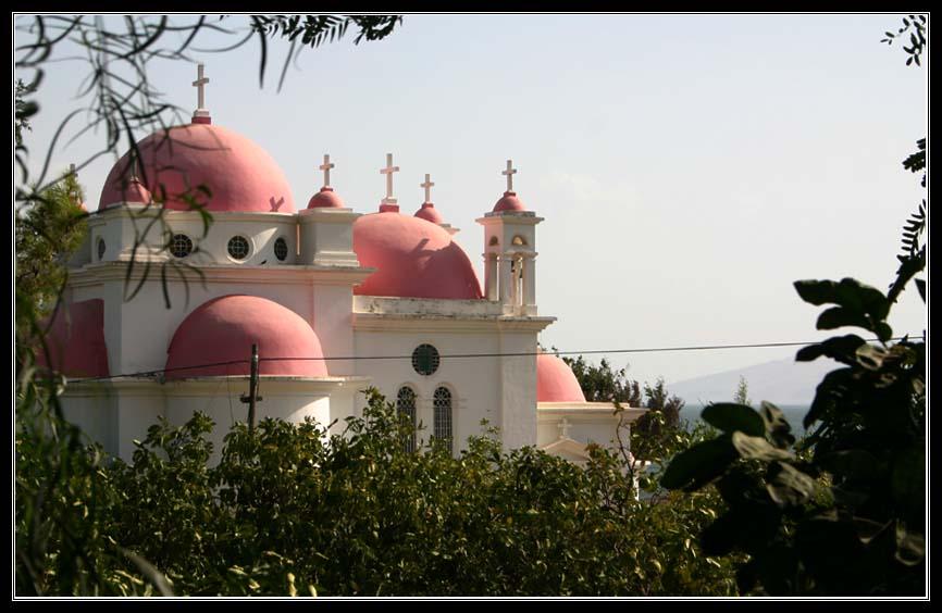 Церковь 12 апостолов в Капернауме – Галилейское море