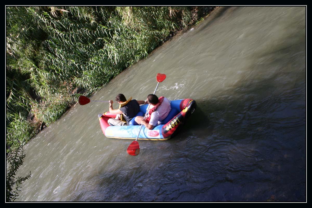 Сплав на каяках по реке иордан