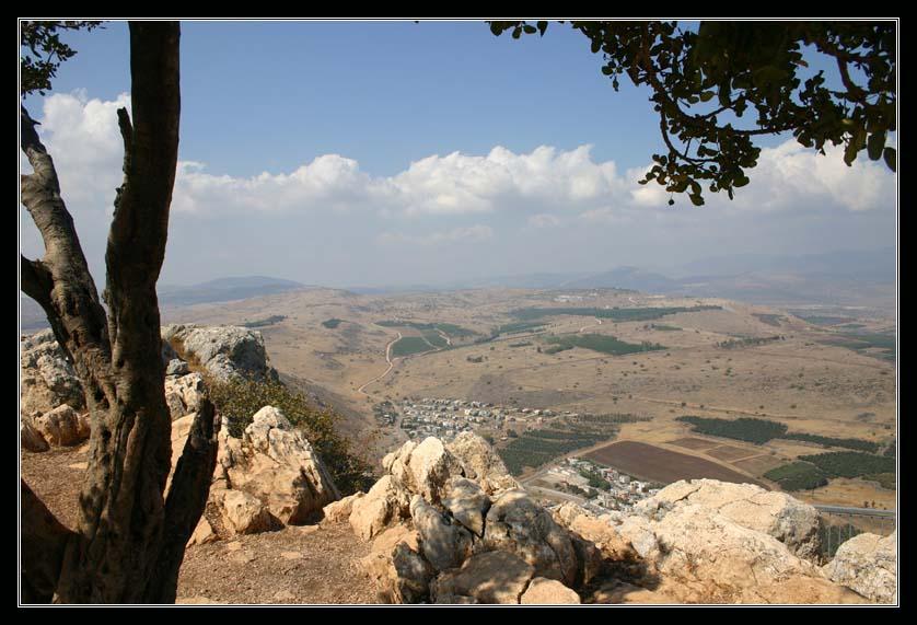 Галилея - вид из национального парка Арбель
