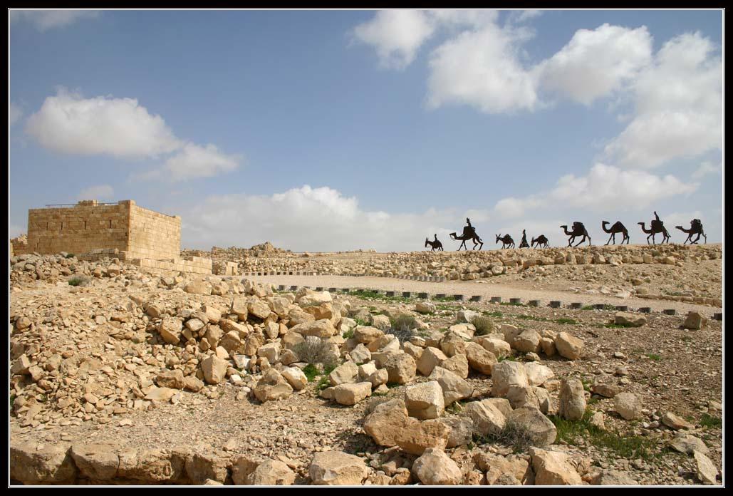 сухой климат Негева