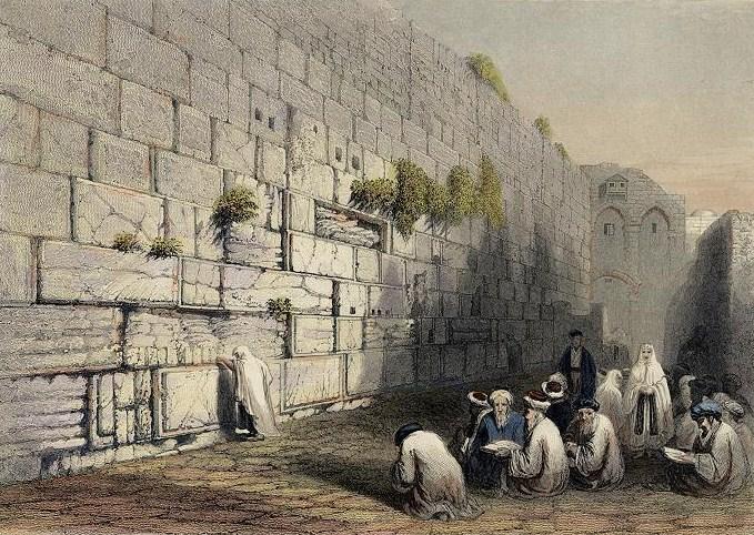 Западная стена - Стена плача - Иерусалим