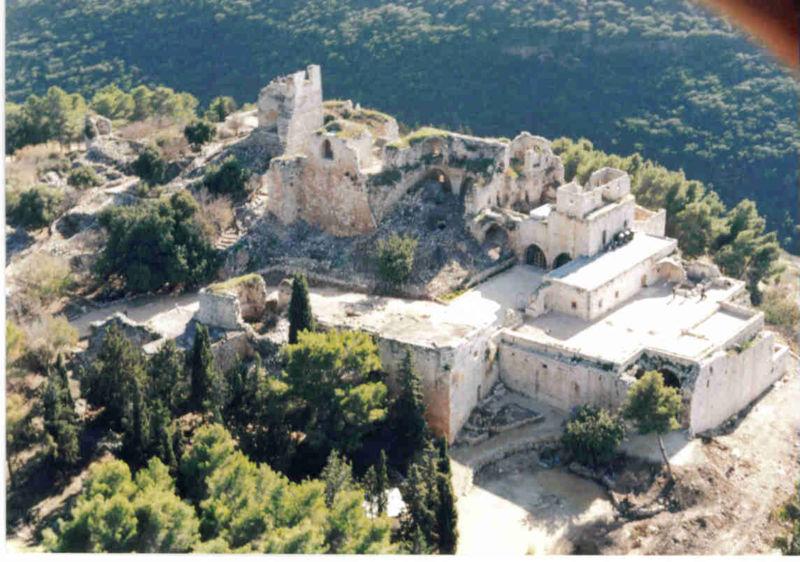Крепость Йехиам верхняя галилея