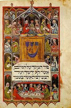 агадат песах - пасхальная агада - иудейская пасха