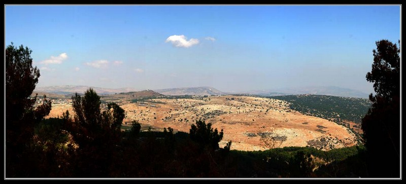 восточная часть верхней Галилеи