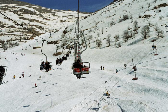 горнолыжный курорт Израиля - Хермон