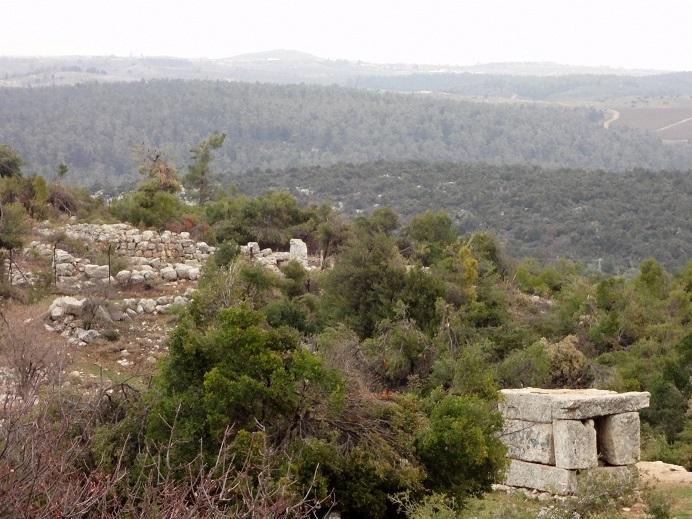 Хирбет Шема - гора Мирон - мавзолей