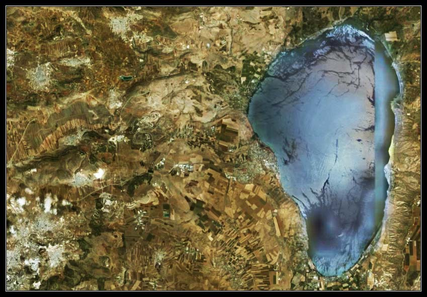 Галилейское море - Моря Израиля