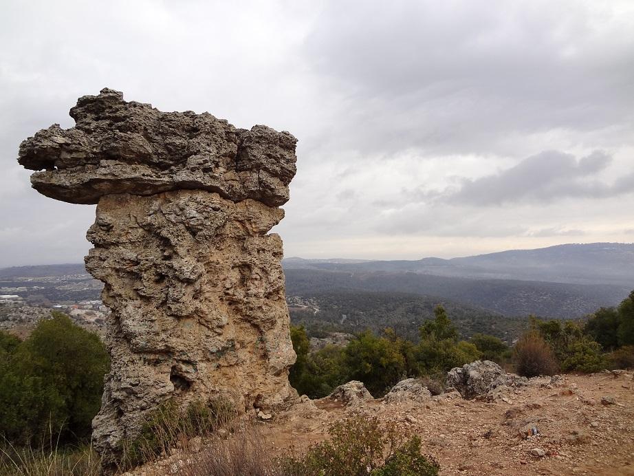 Кисе Элияху на горе Мирон