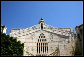 Церковь благовещения в Назарете - Израиль