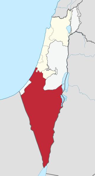 Границы Негева