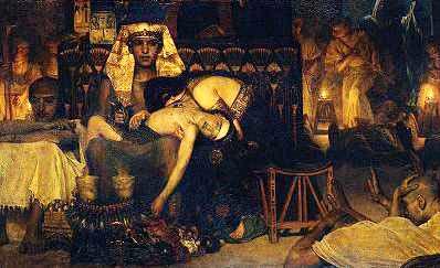 казнь первенцев - песах - иудейская пасха
