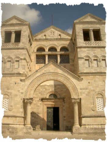 Цервокь (базилика) преображения на горе тавор (Фавор)