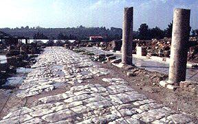 Ципори - Улица древнего города - Израиль