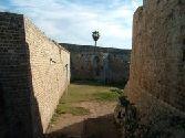 городские укрепления - первая и вторая стена - древний Акко