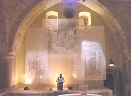 Центральный зал Хамама - Турецкой Бани в Акко - Израиль