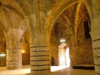 Столовая в рыцарских залах - Крепости госпитальеров - Акко - Израиль