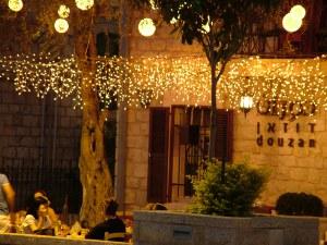 Вечер в уютном ресторанчике в Германской колонии - Хайфа