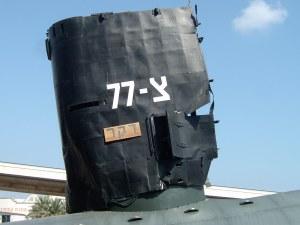 Останки знаменитой Израильской подводной лодки «Дакар»