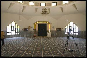 Зал мечети в районе Кабабир – Ахмадия - Хайфа