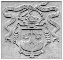 Герб ордена кармелитов - Стелла Марис - Хайфа