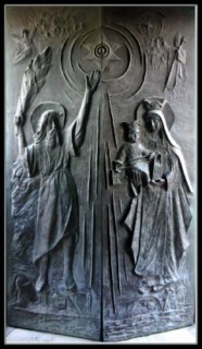 Врата церкви Стелла Марис - Хайфа