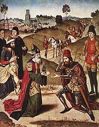 малькицедек встречает Авраама в долине шавей - долина королей