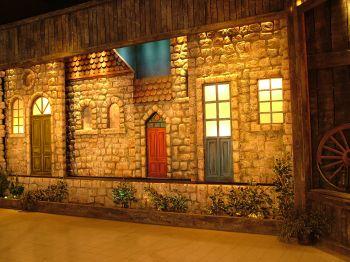 Светозвуковое представление о жизни и жителях рош Пины - Израиль