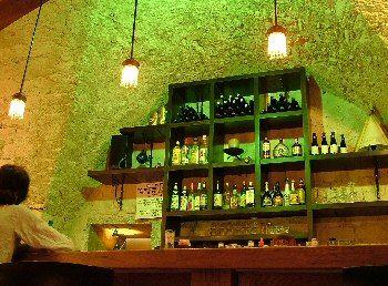 Стойка бара в галерии шоколадном кафе -  Рош Пина - Краеугольный камень - Израиль