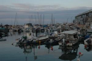 порт в старом Яффо - Израиль
