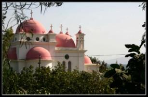 кинерет - галилейское море - церковь 12 апостолов