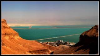 курортная зона Эйн бокек - мертвое море - Израиль