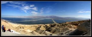 вид на мертвое море с содомской горы