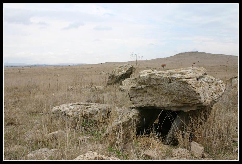 Голанские Высоты - Дольмен – от бретонского- tol - стол и men – камень