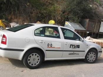 Такси и маршрутки - общественный транспорт в Израиле