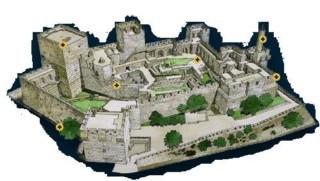 макет исторического музея Башня Давида - Иерусалим