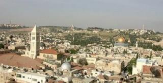 вид с Башни Давида на Иерусалим