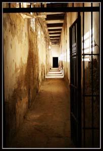 тюрьма в Акко - Акр - корридор - ныне музей